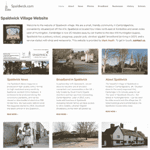 Spaldwick website