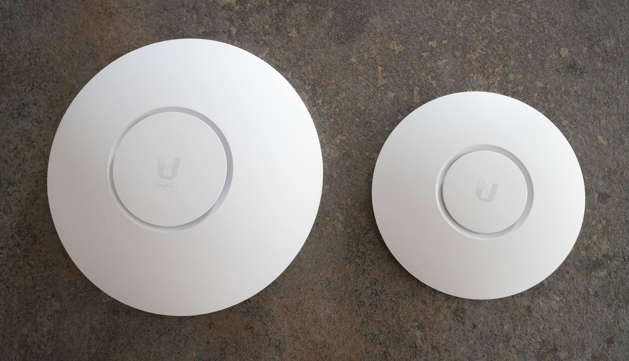Comparison of UniFi devices